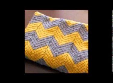 2014 Tığ İşi Bebek Battaniyesi / 2014 Crochet Baby Blanket