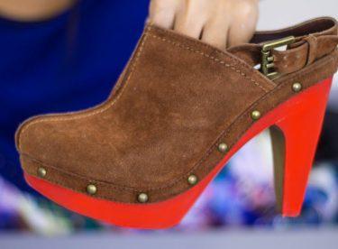 Ayakkabı Boyama – Kendin Yap (DIY)