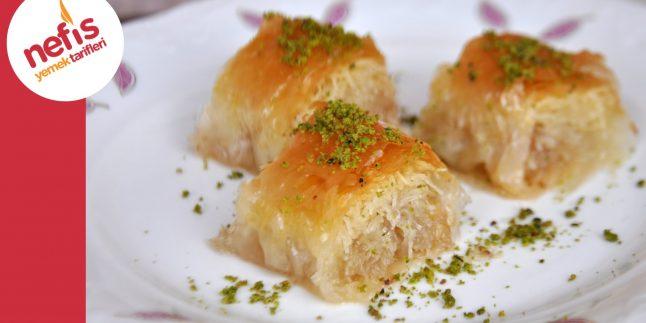 Baklava Yufkası ile Kadayıf Sarma Tarifi | Nefis Yemek Tarifleri