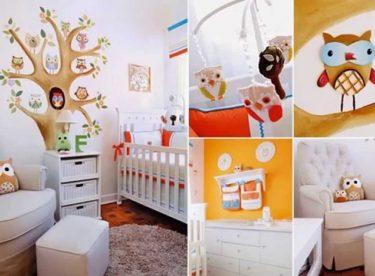 Bebek odası için duvar dekorasyonu fikirleri
