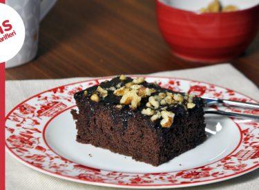 Brownie Tadında Islak Kek   Çiğ Yumurtasız Islak Kek
