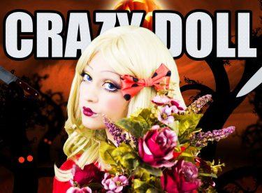 Crazy Doll Makeup – HALLOWEEN MAKEUP