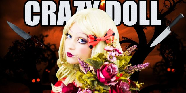 Crazy Doll Makeup – HALLOWEEN MAKEUP