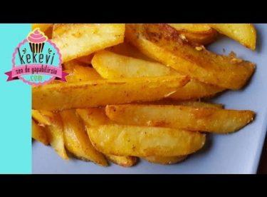 Fırında Patates (Sarımsaklı Baharatlı)