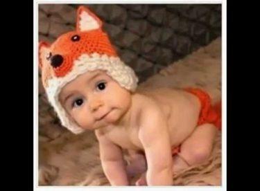 Hayvan Figürlü Bebek Şapkaları Modelleri