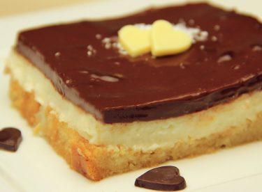 İrmikli Etimek Tatlısı Tarifi – Çikolatalı Pudingli Şerbetli Pasta