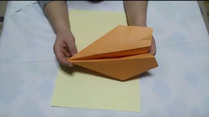 Kağıttan Uçak Yapımı