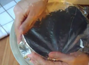Kestaneli Mozaik Pasta