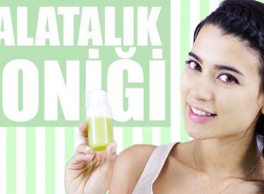 Kırışıklıklar ve Cilt Lekeleri İçin Salatalık Toniği