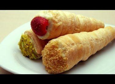 Külah Pasta | Milföy Hamurundan Yaş Pasta Tarifi