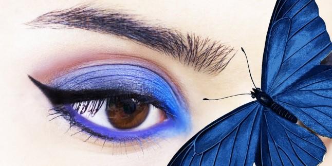 Lacivert Göz Makyajı