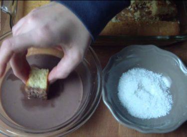 Lokum Kek / İngiliz Keki / Lamington Kek