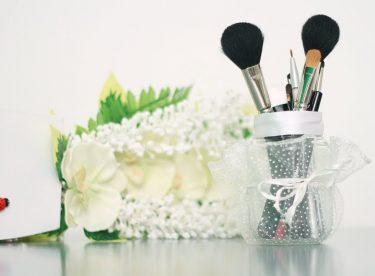 Makyaj Fırçaları İçin Kozmetik Organizer Yapımı -1