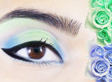 Mavi Yeşil Göz Makyajı