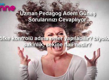 öfke kontrolü adına neler yapılabilir biyolojik sakinlik, sekine hali nedir