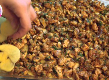 Patates Lazanya (Enfes Bir Fırın Yemeği)