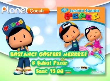 Pepee 8 Şubat'ta Mall Of İstanbul'da