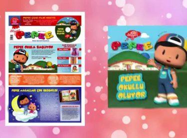 Pepee Gazetesi'nde Bu Hafta Pepee CD'si Armağan