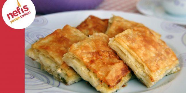 Peynirli Tepsi Böreği   Nefis Yemek Tarifleri
