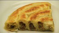 Tavada Rulo Börek Tarifi – Kıymalı Patatesli Çıtır Kol Böreği