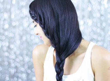 Uzun Saçlar İçin Örgü Saç Modeli