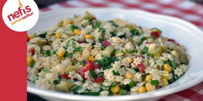 Yıldız Şehriye Salatası | Nefis Yemek Tarifleri
