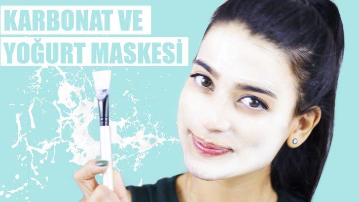 Yoğurt Ve Karbonat Maskesi – Leke ve Siyah Nokta Giderici Yüz Maskesi