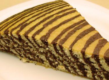 Zebra Kek Tarifi | İki Renkli Kek Nasıl Yapılır