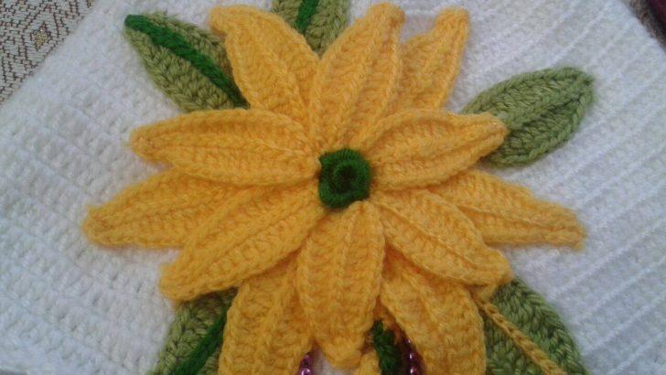 Tığ İşi Çiçek Yaprağı Yapılışı Anlatımlı