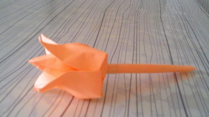 Kağıttan Gül Yapımı Kolay