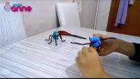 Tüylü Tel ile Sevimli Örümcek Yapımı – Kendin Yap