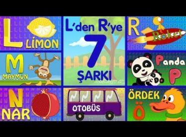 ABC Alfabe Şarkıları (L-M-N-O-Ö-P-R) – Sevimli Dostlar Eğitici Çizgi Film Çocuk Şarkıları
