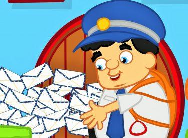 Bak Postacı Geliyor – Çizgi Film Çocuk Şarkısı – Adisebaba Çocuk Şarkıları Videoları