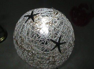 Balondan Abajur Yapımı | İpten Abajur Yapımı