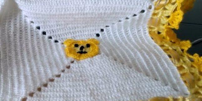 Bebek Battaniyesi Kare Motifi Birleştirme Tekniği