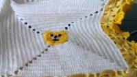Bebek Battaniyesi Kare Motifli Yapımı Başlama Tekniği