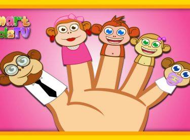 Finger Family Maymun Ailesi – Sevimli Dostlar- İngilizce Çizgi Film Çocuk Şarkıları Videoları