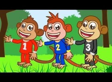 Five Little Monkeys – Adisebaba İngilizce Çizgi Film Çocuk Şarkıları Videoları