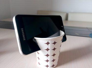 Karton Bardak ile Telefon Tripodu Yapımı