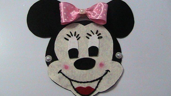 Keçeden Mickey Mouse Yapımı : DIY