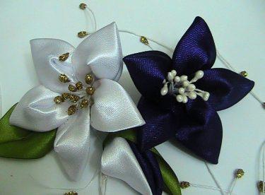 Kurdeleden Çiçek Modelleri Yapımı