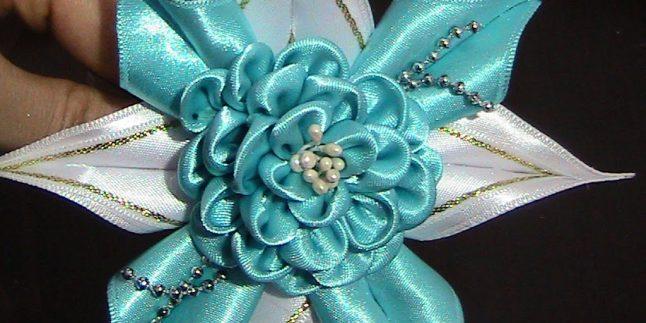 Kurdeleden Çiçek ve Taç Yapımı