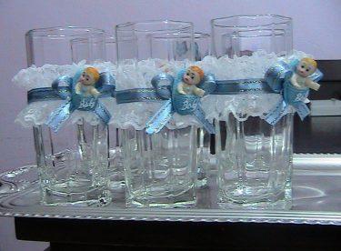 Lohusa Şerbeti Bardağı Süsleme