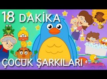 Mini Mini bir Kuş Donmuştu ve EN Popüler 10 Çocuk Şarkısı – AdisebabaTV Çizgi Film Çocuk Şarkıları