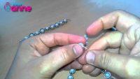 Misina İpi ve İnci ile Bileklik Yapımı