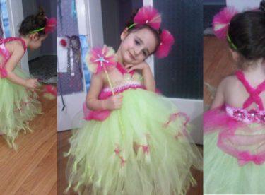 Tütü Elbise Nasıl Yapılır – Prenses Modeli
