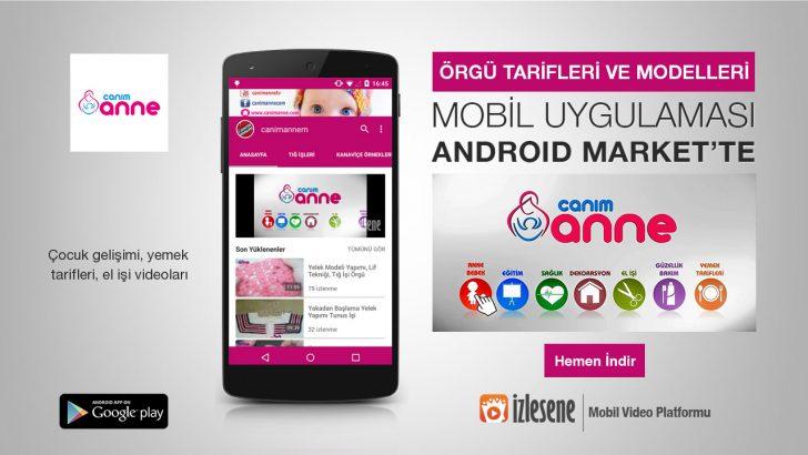 Anlatımlı Örgü Tarifleri Android Marketten İndirebilirsiniz