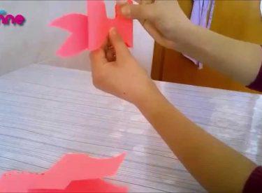 Kağıt ile Kurdela Yapılışı