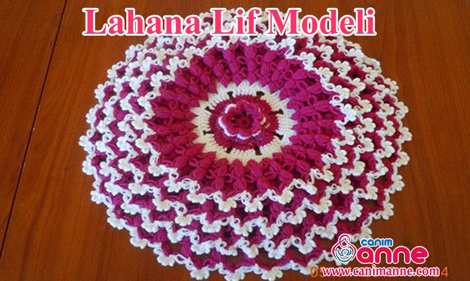 Lahana Lif Modelinin Yapılışı