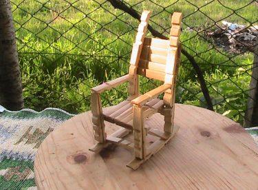 Mandaldan Sallanan Sandalye Yapımı